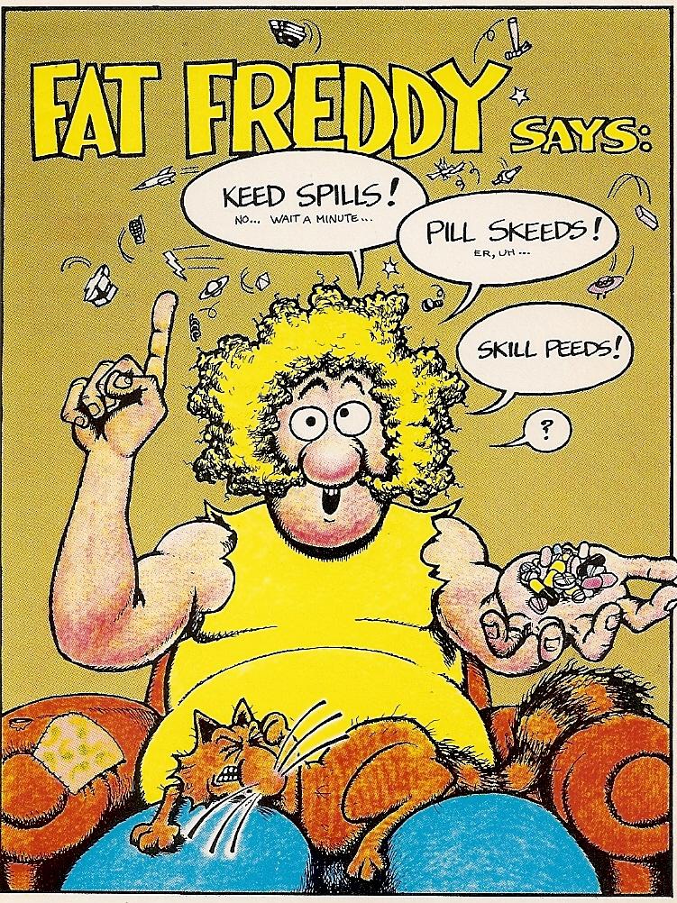 FatFreddyPostCardSpeedKills
